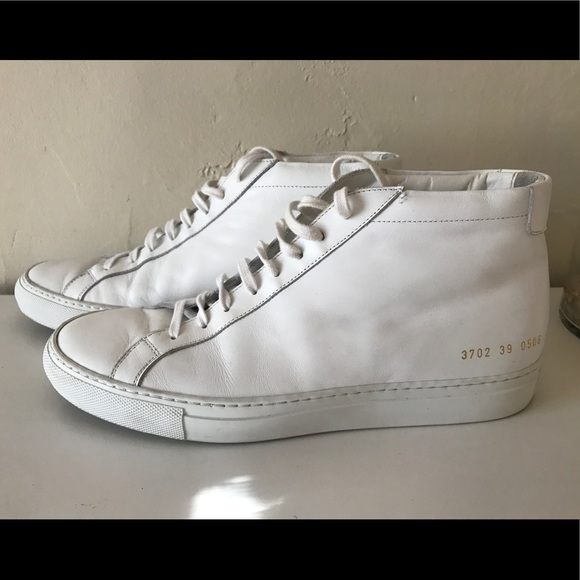 0c1d3618f23 Common Projects Shoes - COMMON PROJECT- ORIGINAL ACHILLES LEATHER HIGH TOP
